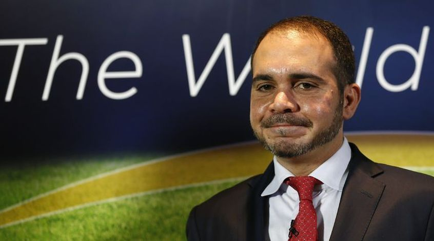 Али бин Аль-Хусейн подал заявку на участие в выборах президента ФИФА