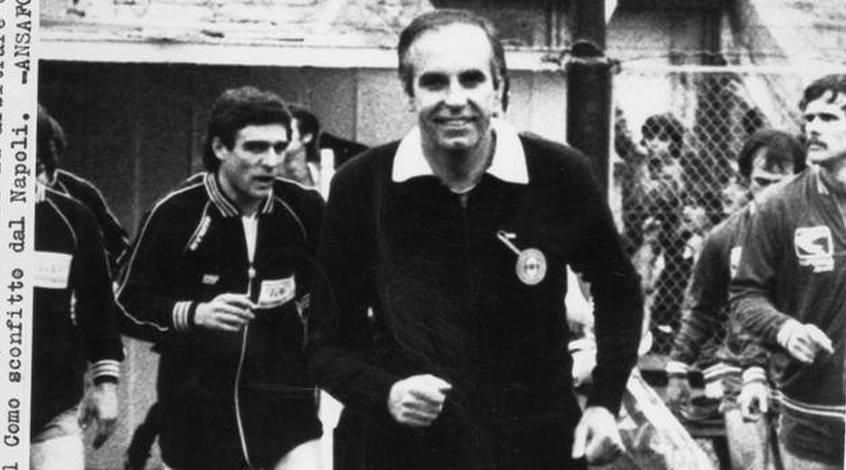 Не стало знаменитого итальянского арбитра Джино Меникуччи