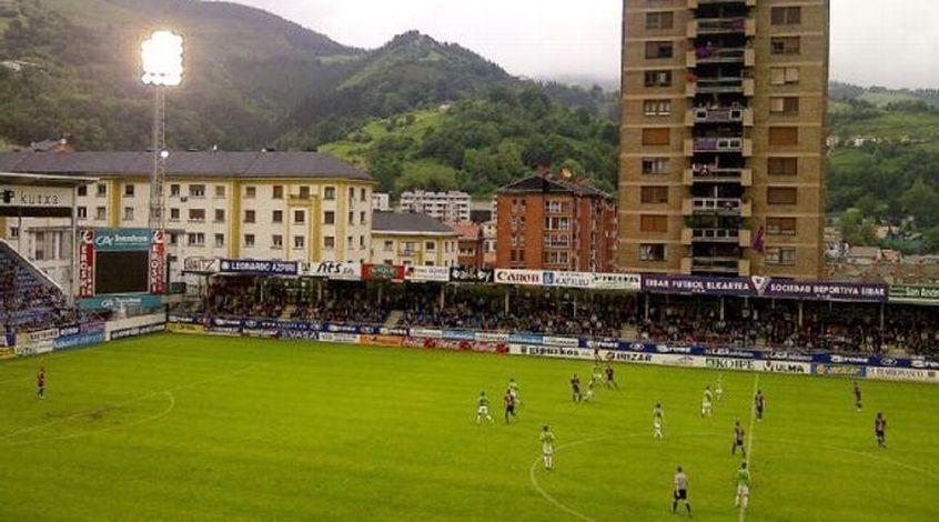 """Стадион """"Эйбара"""" - наиболее заполняемая арена в чемпионате Испании"""