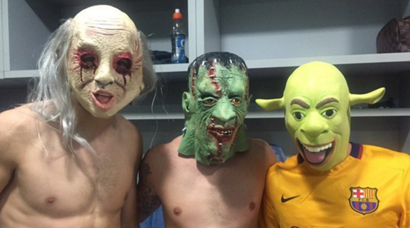 Как футболисты праздновали Хэллоуин (+ Фото)