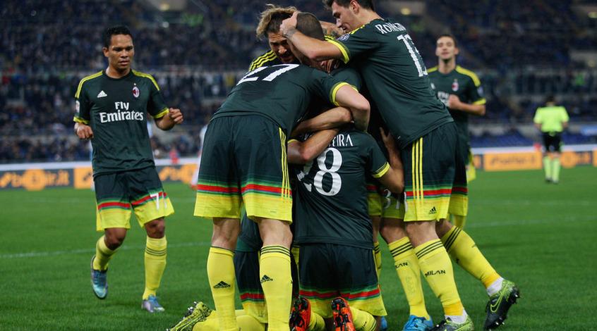 """""""Лацио"""" - """"Милан"""" 1:3. Преждевременное римское дерби"""