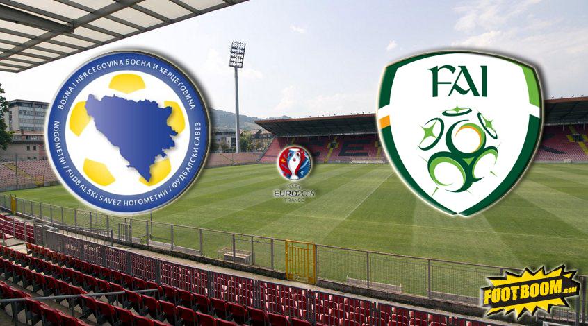 Отбор к Евро-2016. Босния и Герцеговина – Ирландия. Анонс и прогноз матча