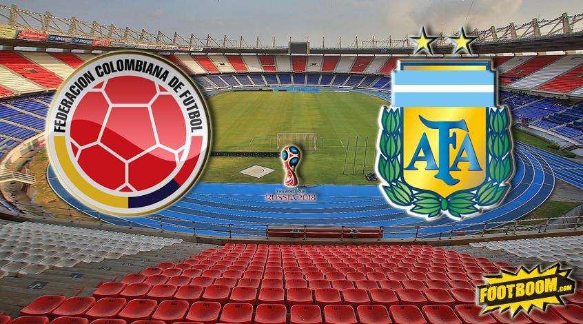 Отбор к ЧМ-2018. Колумбия - Аргентина. Анонс и прогноз матча