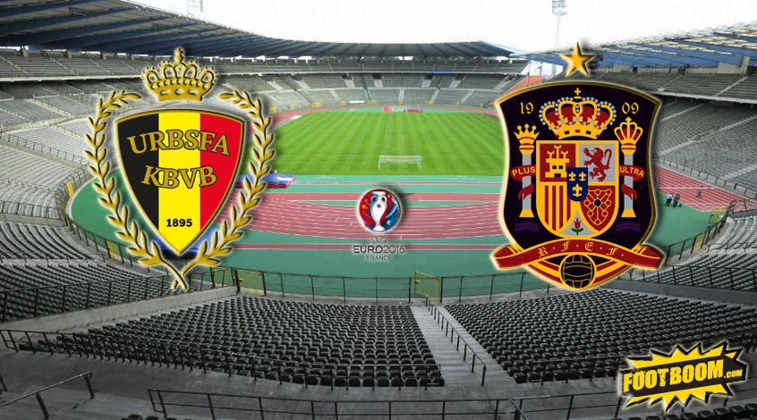 Бельгия - Испания. Анонс и прогноз матча
