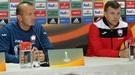 Роман Григорчук, Алексей Антонов и Алексей Гай пытаются разговаривать на азербайджанском (Видео)