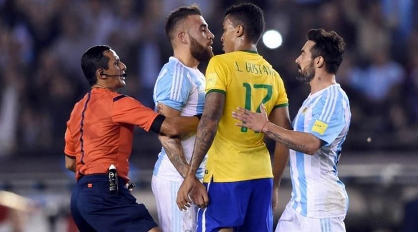 """Отбор к ЧМ-2018. Аргентина - Бразилия 1:1. """"И они еще борются за звание..."""""""