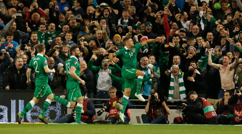 Ирландия - Босния и Герцеговина 2:0. Около тебя мир зеленее