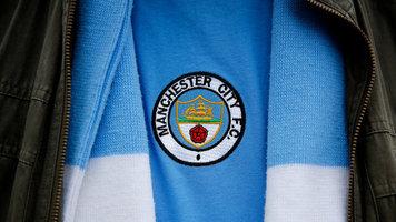 "Фанаты ""Манчестер Сити"" вывесили баннер ""Слава героям АТО"" (Фото)"