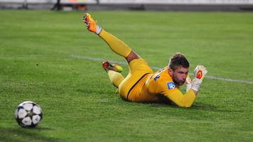 Воспитанник полтавского футбола стал лучшим вратарем в первой части ФНЛ
