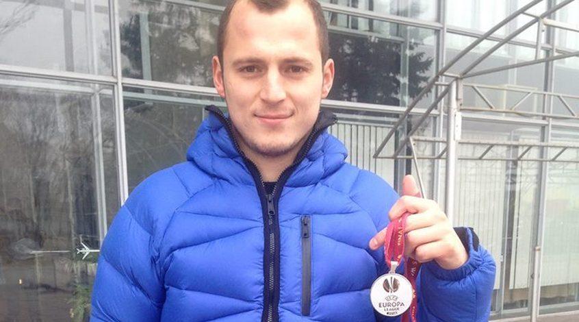 За медаль финалиста Лиги Европы Романа Зозули предлагают 210 тысяч гривен