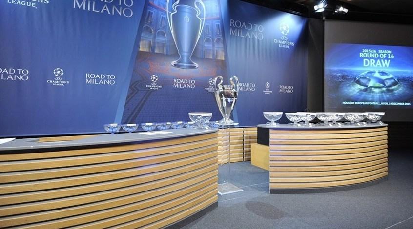 Сегодня состоится жеребьевка 1/2 финала Лиги чемпионов и Лиги Европы