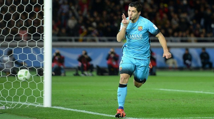 """Барселона"" - ""Гуанчжоу Эвергранд"" 3:0. Тройной Суарес"