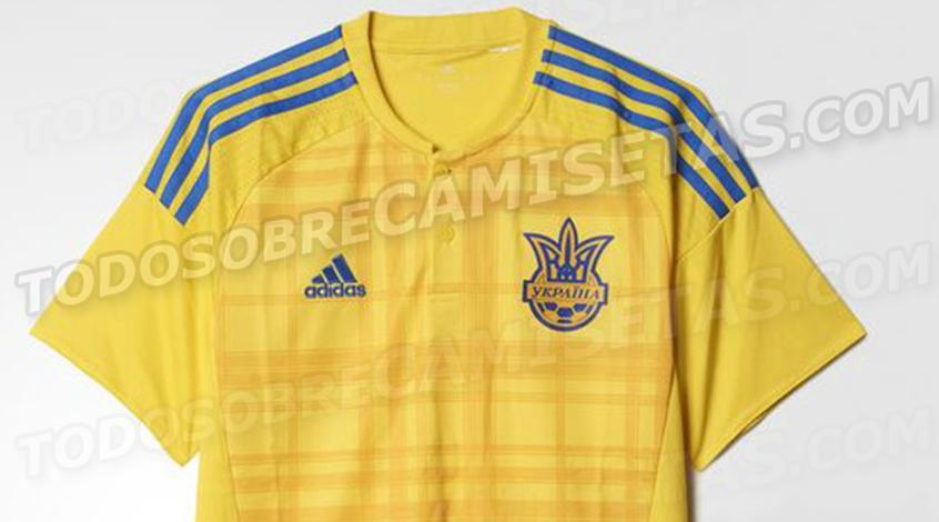 Форма сборной Украины на Евро-2016 (Фото)