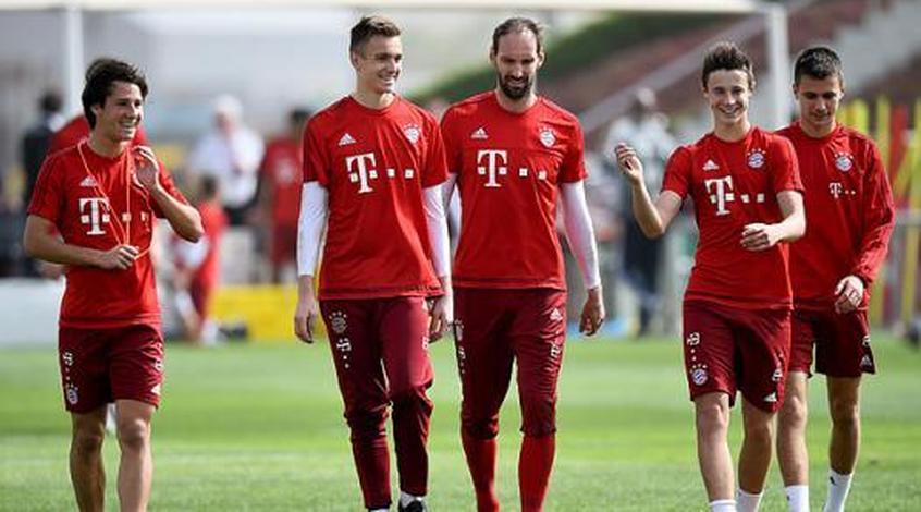 """""""Бавария"""": на сборах пять талантов вкусят дух профессионального футбола"""