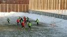 Как быстро очистить поле от снега - эффективный способ из Румынии