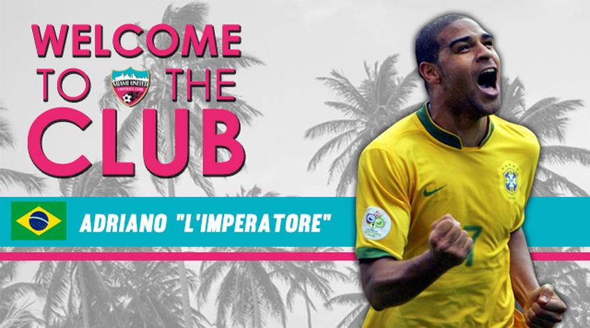 Адриано принял решение возобновить карьеру в США