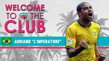 Адриано намерен вернуться в большой футбол