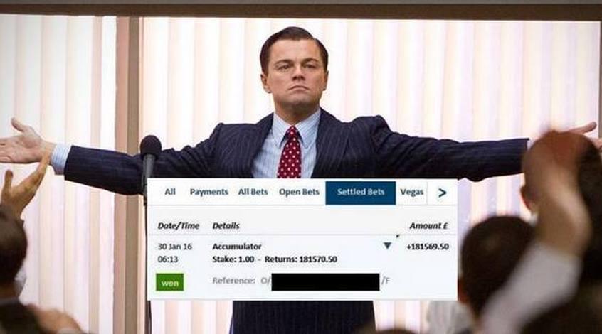 В Англии игрок выиграл 181 тысячу фунтов с одного фунта (Фото)