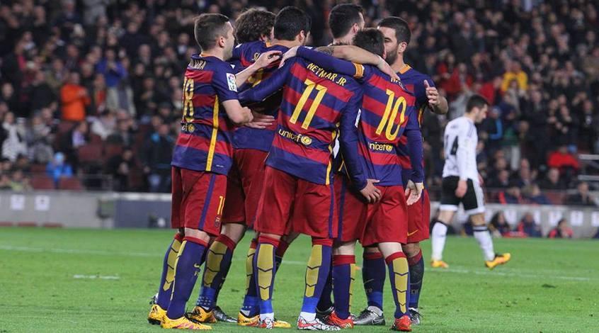 """""""Барселона"""" - """"Валенсия"""" 7:0. Отбивная из """"летучих мышей"""""""