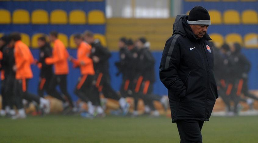 """Шахтер"" провел тренировку на стадионе им. Банникова (+ Фото)"