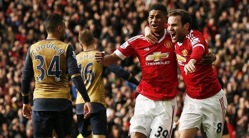 """""""Манчестер Юнайтед"""" - """"Арсенал"""" 3:2. Всем бедам вопреки или Ван Гаал зажег новую звездочку"""