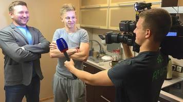 Полузащитник сборной Украины исполнил рэп (+Видео)