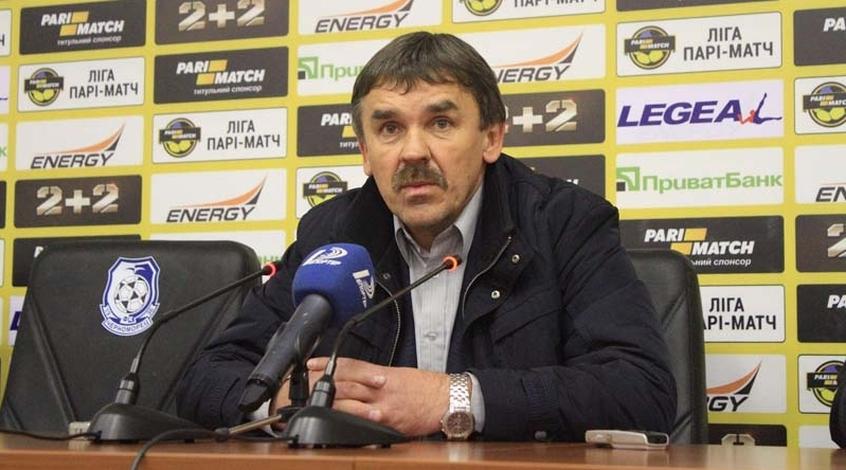 Володимир Безубяк : попереджав перед грою, що судить Вакс