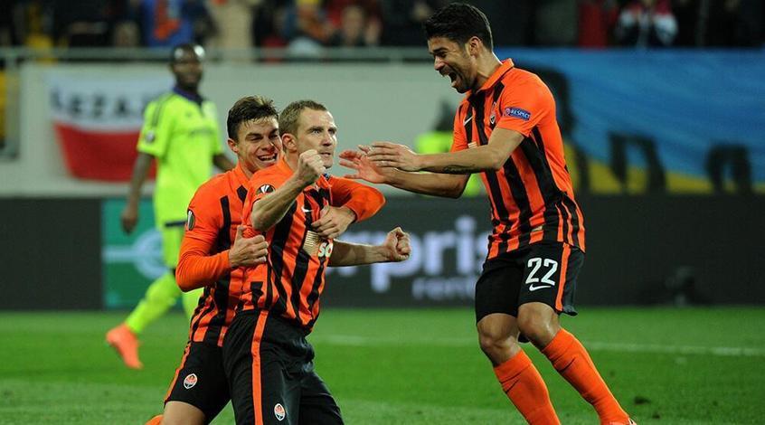 Александр Кучер забил свой первый гол в еврокубках