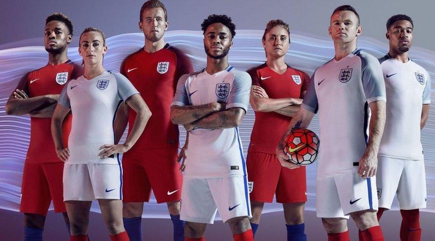Англия представила форму к Евро-2016 (Фото)
