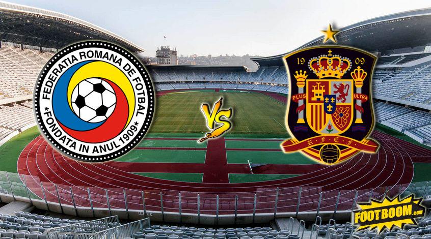 Товарищеский матч. Румыния - Испания 0:0. Сухо в Клуже (Видео)
