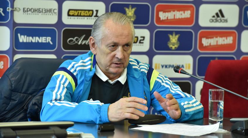Пресс-конференция Михаила Фоменко перед матчами с Кипром и Уэльсом