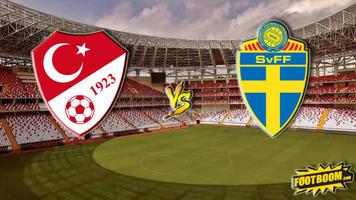 Лига Наций. Турция - Швеция 0:1 (Видео)