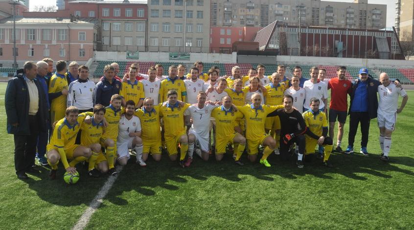 Сборная Ветеранов Украины – сборная болельщиков Уэльса 3:3 (+Фото)