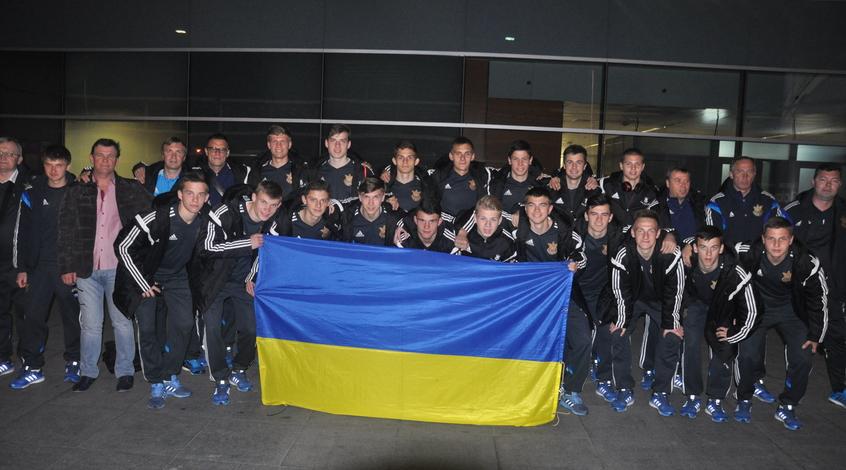 Сборная Украины (U-17) вернулась в Киев с путевкой на Евро-2016 (+Фото)