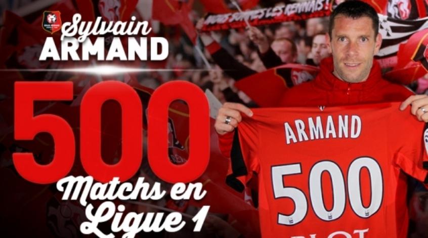 Арман провел 500-й матч в Лиге 1