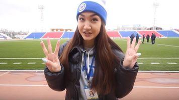 """""""Иртыш"""" – """"Актобе"""": на футболе с Аидой Байтемировой"""