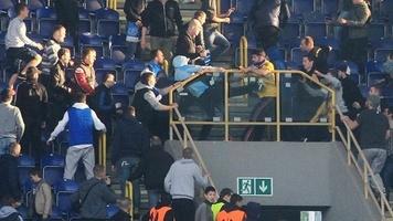 "Как ультрас ""Металлиста"" устроили драку на стадионе в Днепропетровске (Фото, видео)"