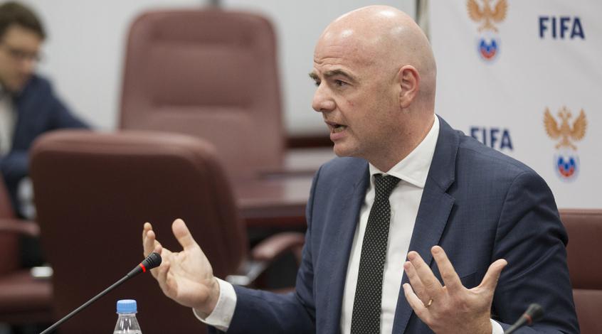 Инфантино: «Мыготовы ввести систему видеопомощи судей»