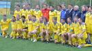Сборная ветеранов провела в Славутиче матч памяти Чернобыльской трагедии (+Фото)