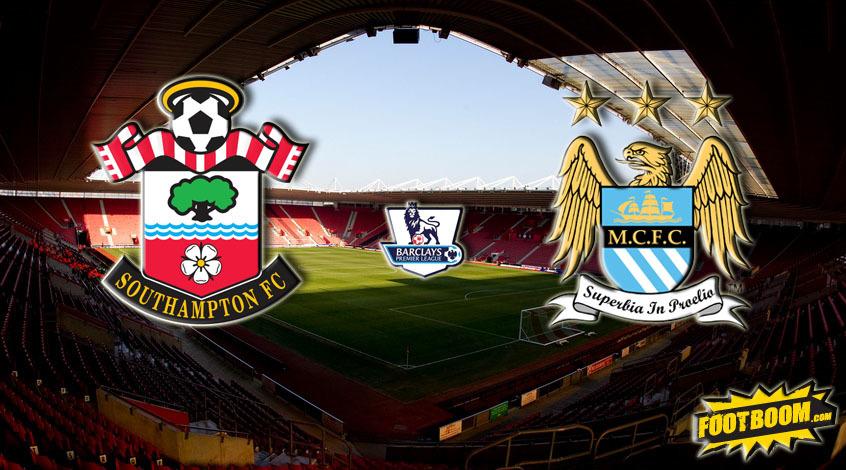 Саутгемптон — Манчестер Сити 30 декабря, футбольный матч