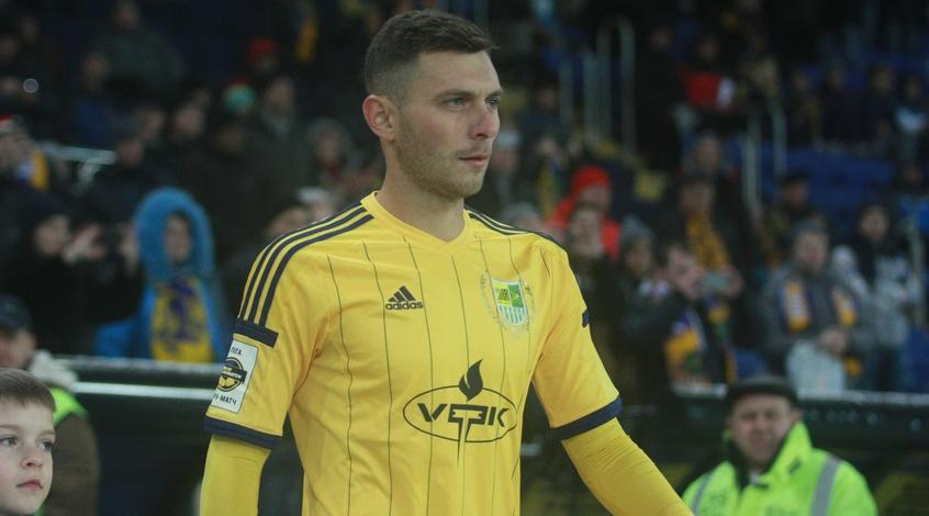 Артем Касьянов сыграл в товарищеском матче в составе чемпиона Харьковской области