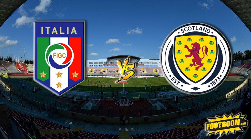 Италия - Шотландия. Анонс и прогноз матча