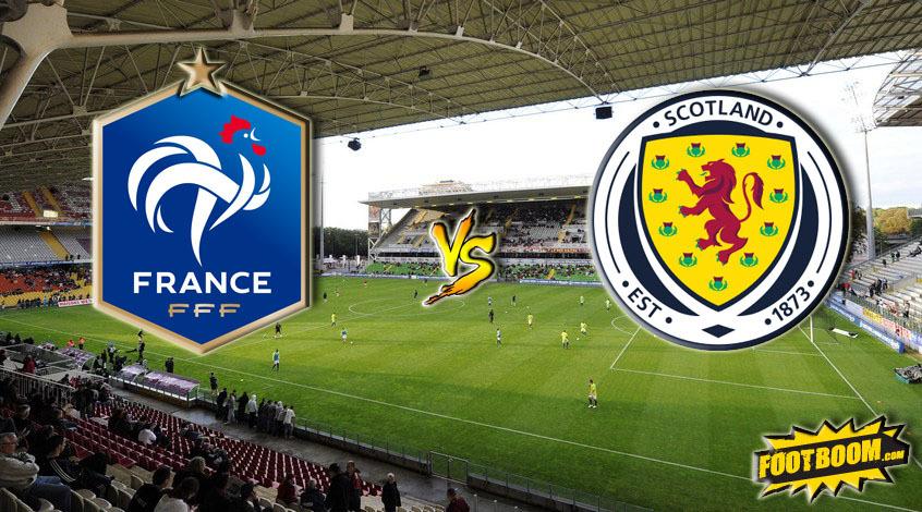 Франция – Шотландия. Анонс и прогноз матча
