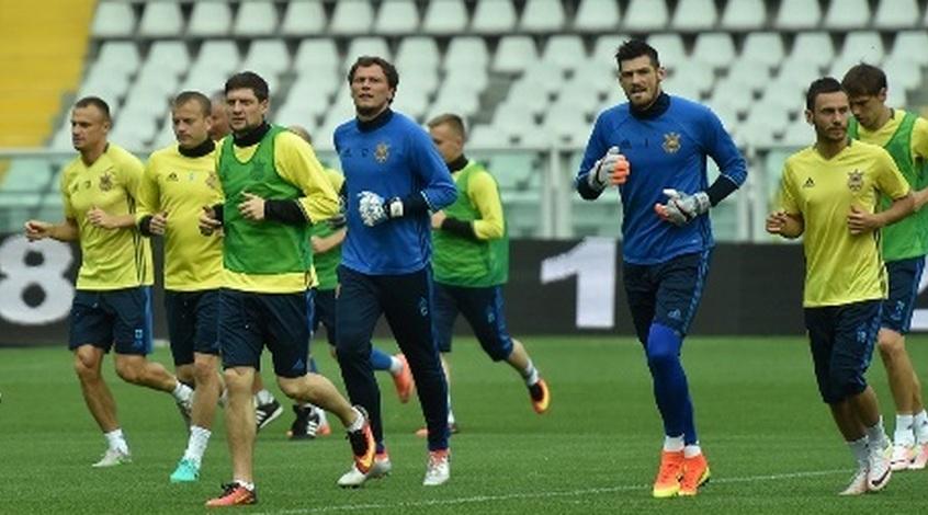 Збірна України провела тренування у Турині (Фото)