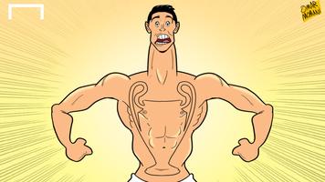Футбол в карикатурах: звездные именины Роналду, Неймара и Тевеса (Видео)