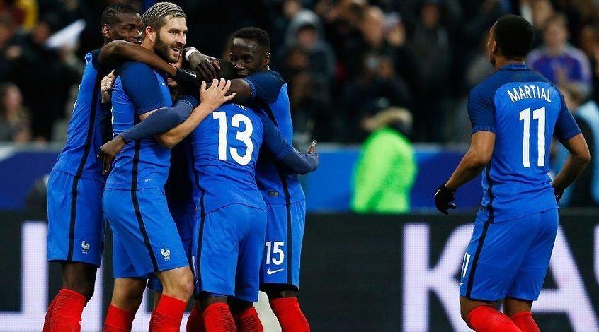 Футболисты сборной Франции получат по 400 тыс. евро, ежели выиграютЧМ