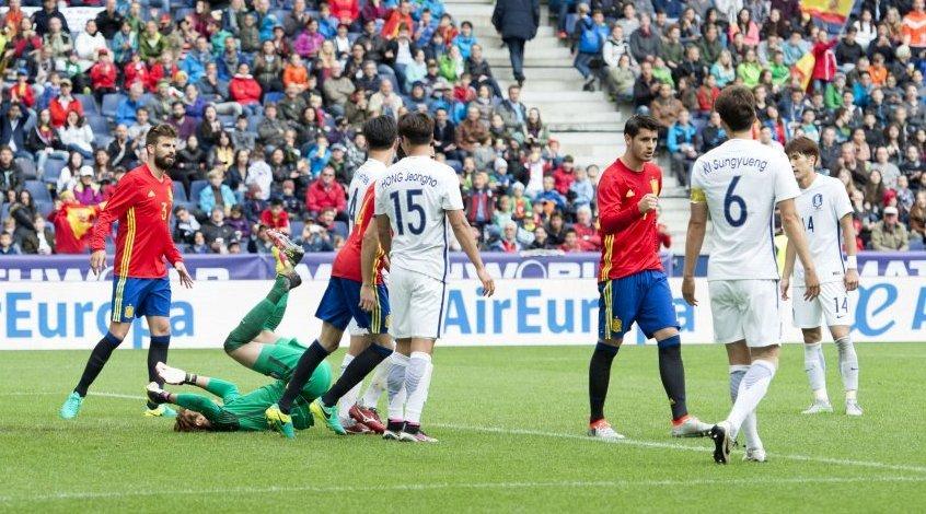 """Испания - Южная Корея 6:1. Укротители """"тигров"""""""