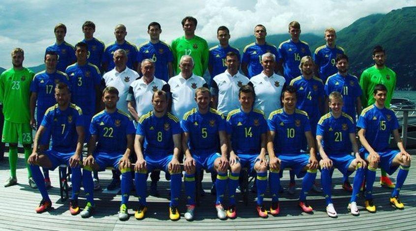 Игроки сборной Украины определились с номерами на Евро-2016