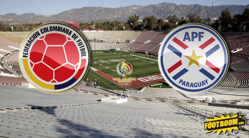 Колумбия - Парагвай. Анонс и прогноз матча