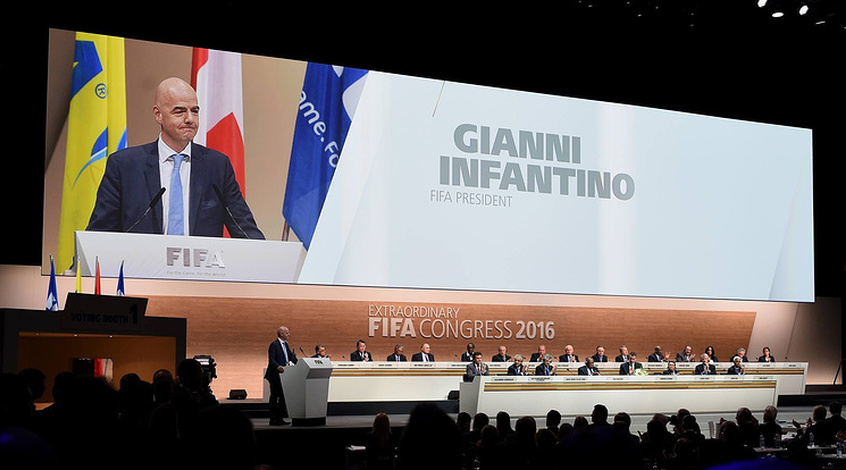 "Джанни Инфантино: ""Я приму участие в выборах президента ФИФА в 2019-м"""